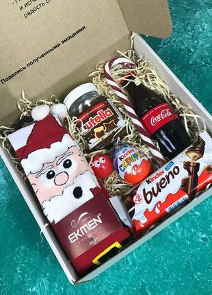 Подарочный набор city-a box бокс для женщины мужчины новый год...