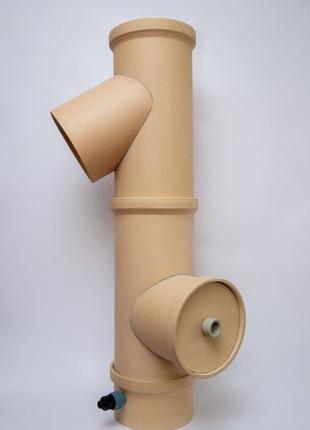 Керамические трубы для дымохода (котлов,печей и каминов)