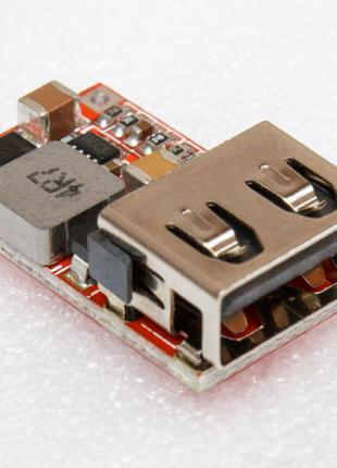 Преобразователь напряжения DC-DC понижающий на 5V USB выход
