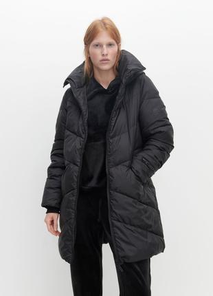 Женская куртка-пальто демисезонная