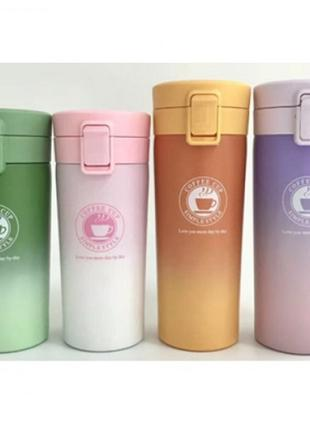 "Стакан-термос железный, термокружка ""Coffe cup"" 500мл MT-3897-0.5"
