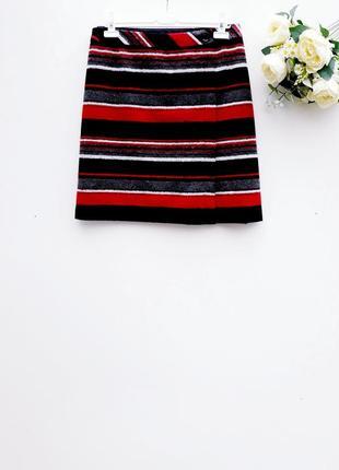 Теплая юбка трапеция красивая юбка большой размер