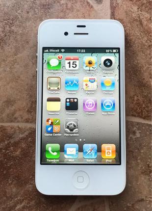 IPhone 4 16GB White Neverlock (iOS 4.3.3)