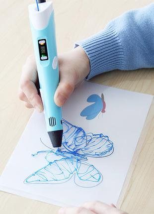 3D-ручка 3D pen-2 (оригинал) Шедевры своими руками