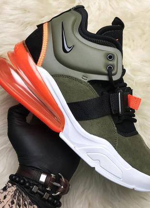 Nike air force 270 green camo. стильные мужские демисезонные к...