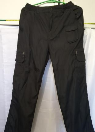 Мужские штаны (плащевка) на резинке