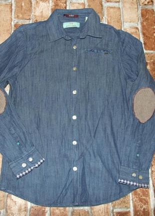 Рубашка котон джинс 12 лет scotch shrunk