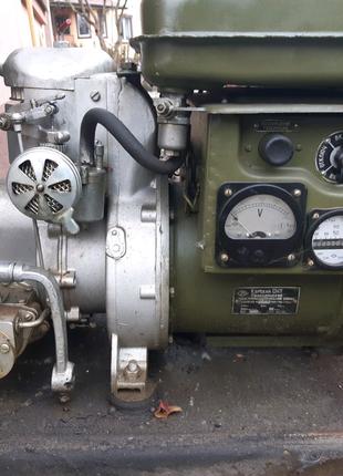 Генератор армейский бензиновый ГАБ-1-0/230