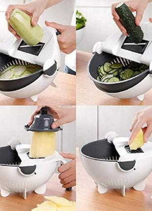 Овощерезка Wet Basket Vegetable Cutter 9в1
