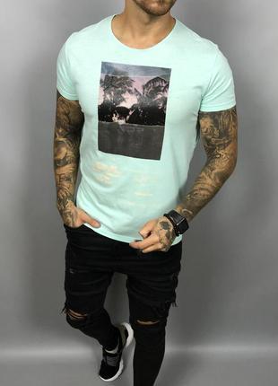 Мужская футболка от zara (#1f458)