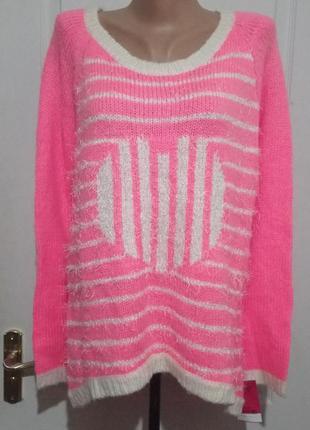 Яркий свитерок с бирками