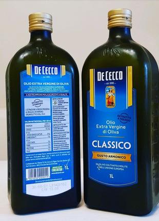 Оливковое масло De Cecco Classico Extra Virgin