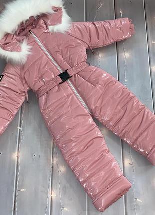 Зимний ☃️ комбинезон под пояс для девочки