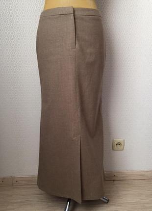 Оригинальная длинная шерстяная юбка - годе от бренда next, раз...