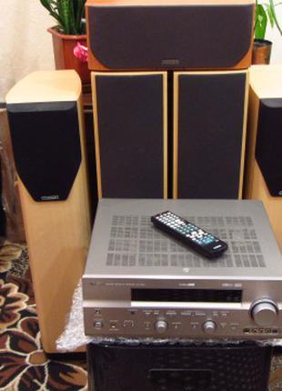 Домашний Кинотеатр  Missin+Yamaha 7.1. Идеальное состояние.