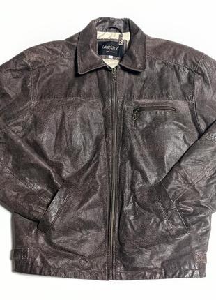 Lakeland кожаная куртка бомбер кожанка | англия