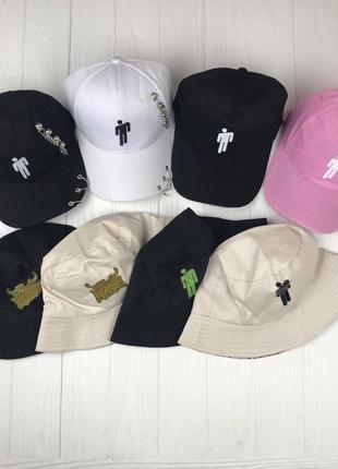 Панамы и кепки billie eilish