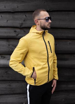 Куртка желтая мужская куртка 💛 ветровка деми