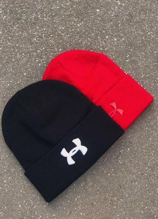 Шапки черная шапка красная