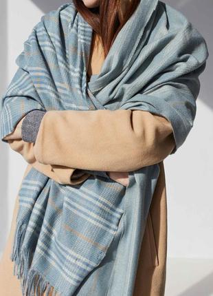 Большие шарфы женские шарф одеяло 9 расцветок