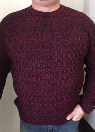 Мужской свитер батал