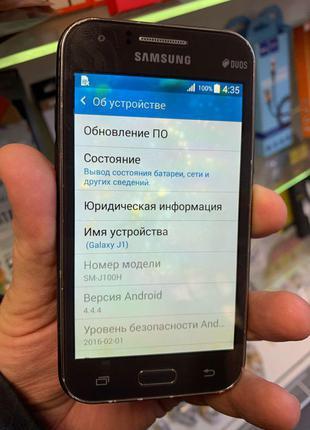 Мобильный Телефон Samsung J1 2015 J100 Duos Б/У