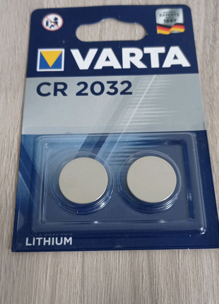 Батарейка Varta CR-2032 таблетка монета в пульты машин оригинал