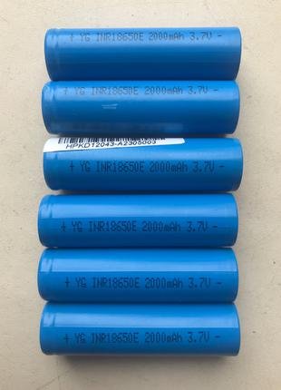 Аккумулятор 18650 2000mAh li-ion