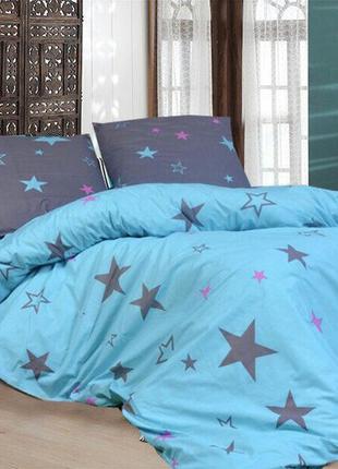 Комплект постельного белья звезды стар  ( двуспальный, евро)
