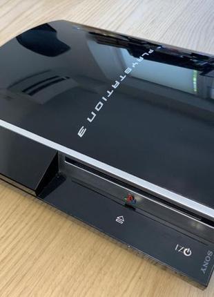 PlayStation PS3 2 джойстика, прошита, много игр