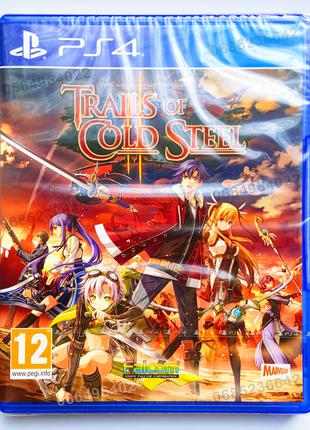 The Legend of Heroes TRAILS of COLD STEEL II 2 PS4 НОВЫЙ диск