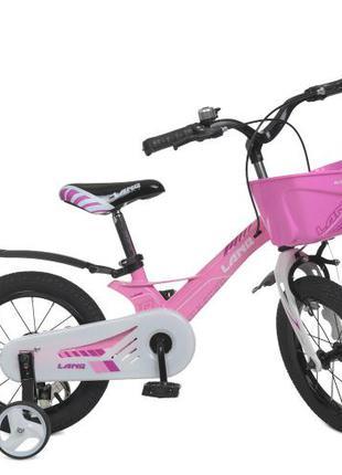 Детский велосипед Hunter 14 дюймов WLN 1450 D-2, розовый