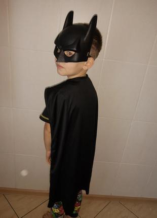 Карнавальный костюм детский супергероя бэтмен/ batman