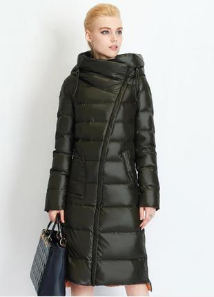 🌟качественный теплый зимний длинный пуховик / пуховое пальто 🌟...