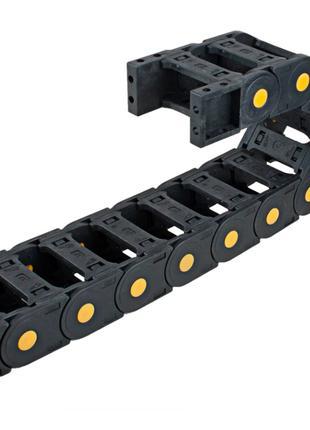 Гибкий кабель-канал с внутренним размером 25х57