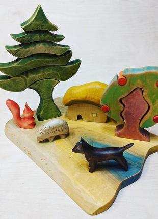 Деревянные игрушки для детей. Игрушки из дерева. Эко игрушки