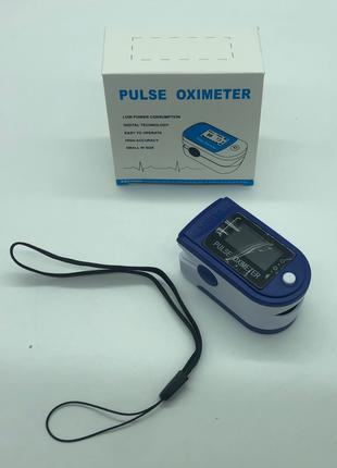 Пульсоксиметр на палец пульсометр Finger Pulse Oximeter Цветной