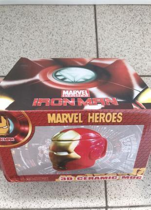 Чашка-подарунок (супниця) Iron Man
