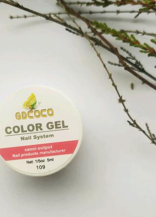 Гель-краска гель-лак канни canni coco