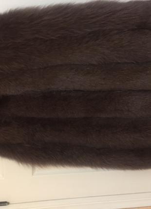 Жилет меховый, размер 34