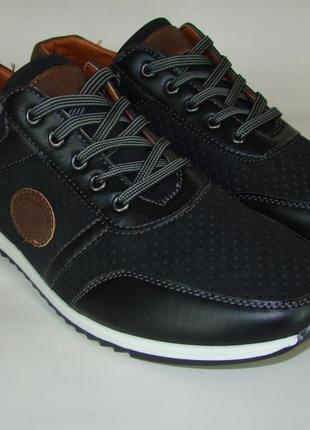 Туфли мужские dual 8202-1 (40-45р) код 8026