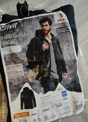 Куртка на флисе софтшелл