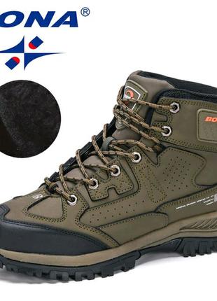 BONA 2020 мужские  теплые дизайнерские ботинки, 43 размер