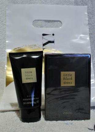 Набор: парфумированная вода, лосьон д/рук little black dress