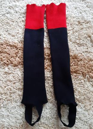 Гетры чулки с открытыми носками