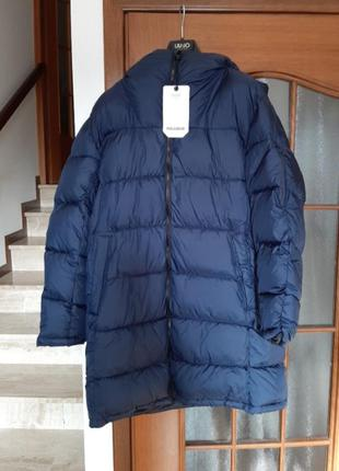 Зимняя удлиненная куртка на синтепоне pull&bear