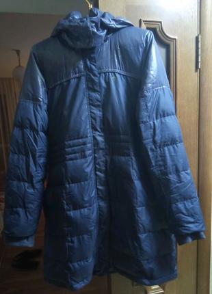 Пальто женское дутое Аддидас