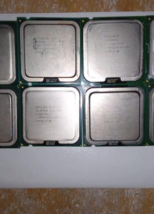 6 процессоров 775 сокет, 1 ядерные!