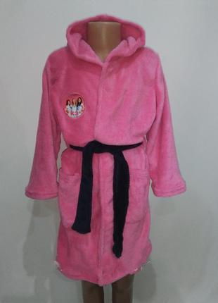 Мягкий халат для девочек 2-4 года германия