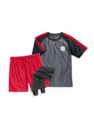 Футбольный костюм 3 в 1 на мальчика от crane 4-6 лет, германия